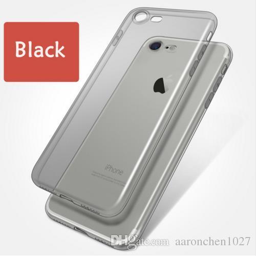 0b2dddf1ded Carcasa De Celular Funda De TPU Suave Ultra Delgada De Silicona  Transparente Para IPhone 5 5s SE 6 6s 6Plus 6sPlus Funda Transparente Para  Teléfono 7 7 Plus ...