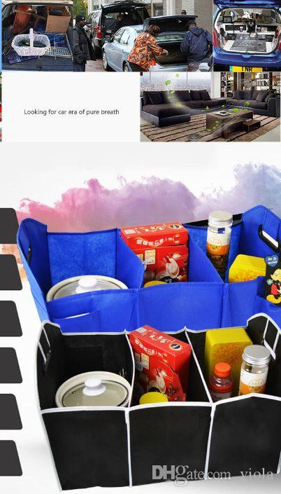Storage Bags Car Trunk Organizer Car Toys Food Storage Container Bags Box Styling Auto Interior Accessories Supplies Gear Products