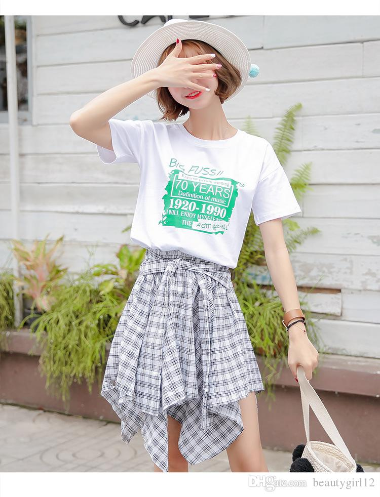 Wholesale cotton short-sleeved T - shirt female 2018 summer new Korean version of the loose student jacket