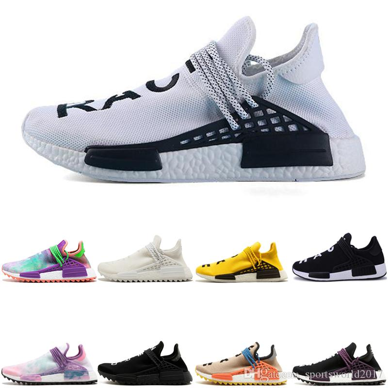 the latest 4aa52 763d5 adidas Originals Human Race Hu NMD Trail Crazy Africa solaire pas cher en  gros HUMAN RACE Pharrell Williams x 2016 hommes formateur discount hommes  ...