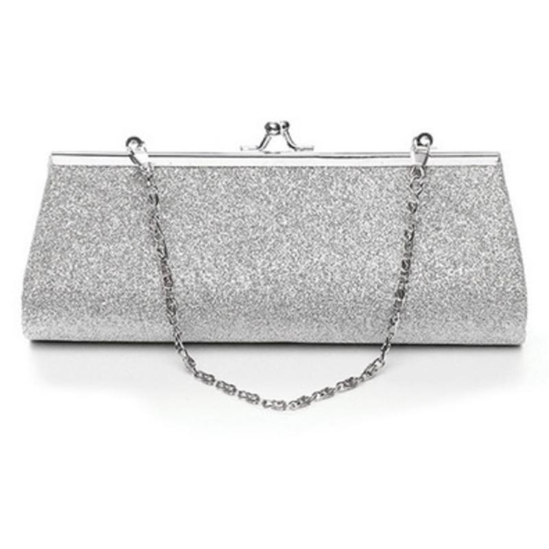 JHD Women Glitter Clutch Purse Evening Party Wedding Banquet Handbag  Shoulder Bag Clutches Beach Bags From Fwfling 27fe3518125e