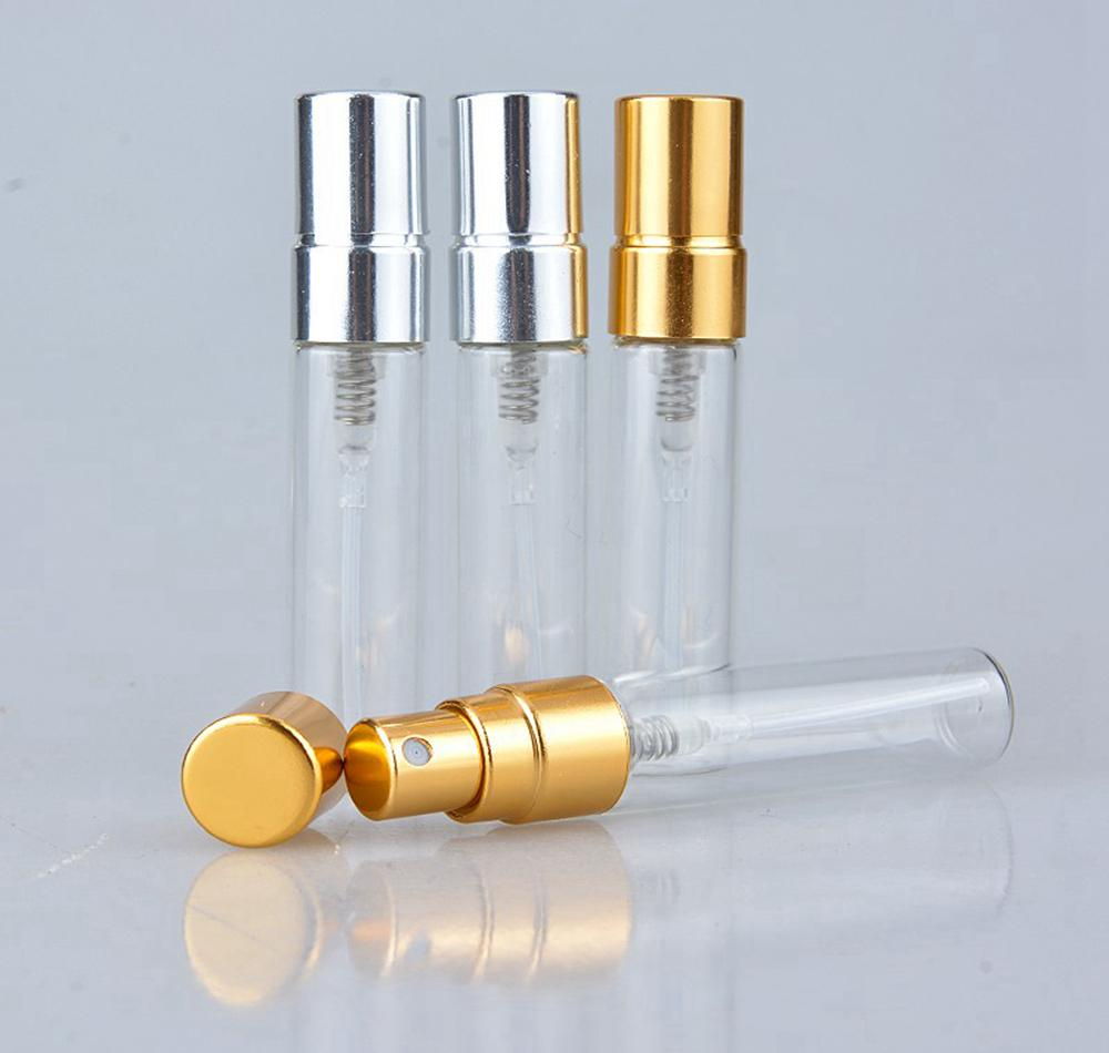 Мини флаконы духи бутылки 5 мл путешествия многоразового пустой распылитель портативный ясно бутылка брызга дух использован DDA198