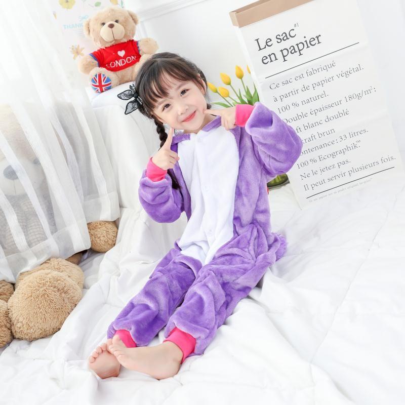 Adult/Kids Winter Woman whole Pajamas Animals Unicorn Costume Fancy Animal Anime Cosplay One piece Jumpsuit Halloween Onesie