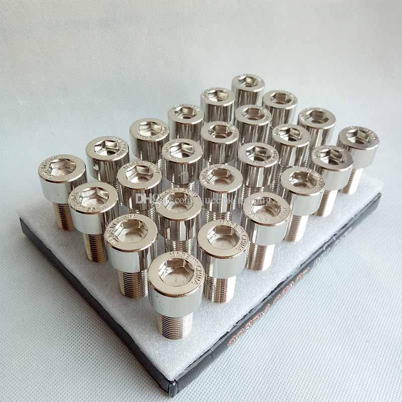 Silver Bolt Secret Hidden Storage Caja de metal segura Caja de píldora mental Bolsa de caja de tornillo bolsa Contenedor con paquete de pantalla útil