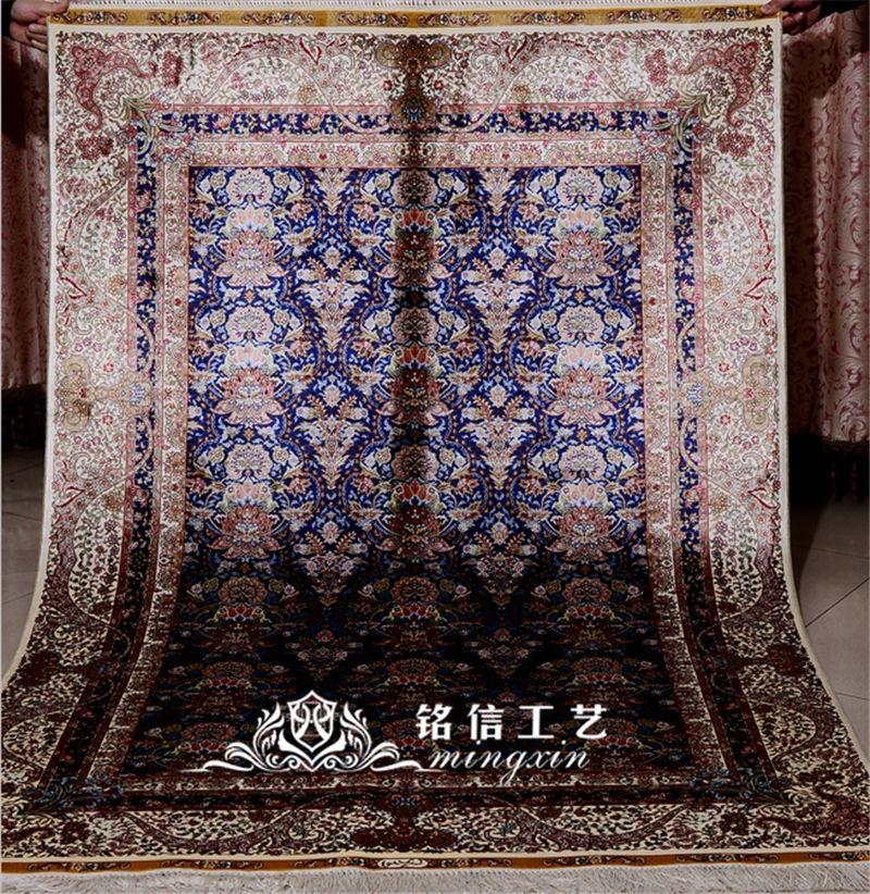 Acheter Mingxin Tapis 4x6 Pieds Turc Tapis De Bande De Fleurs Fait