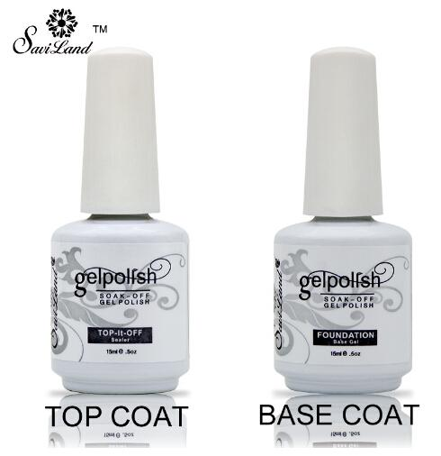 New Soak Off Gel Lacquer Professional 15ml Gelpolish Base e Top Coat Vernici Primer Nail Art Gel UV Nail Polish