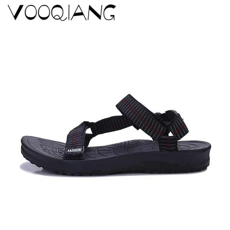 Hombres De Nuevos Playa Fuera Zuecos Zapatillas Antideslizantes Zapatos Verano Tejer Agujero Chancletas Transpirables Sandalias 8mOvNn0w