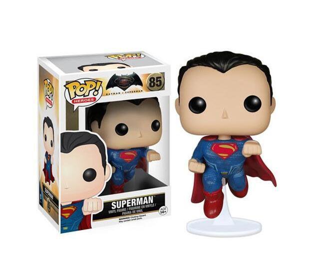Compre Funko Pop Superman Super Heros Vinilo Figura De Accion Con La