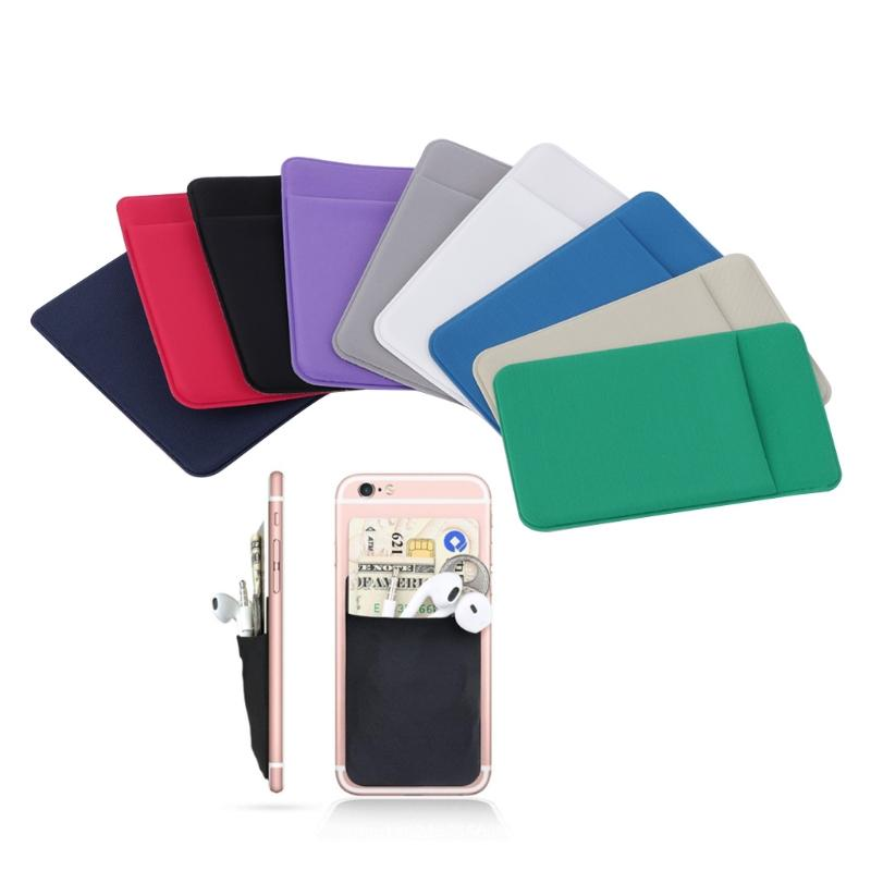 2017 Hot New Elastic Lycra Mobile Phone Wallet Business Credit ID ...