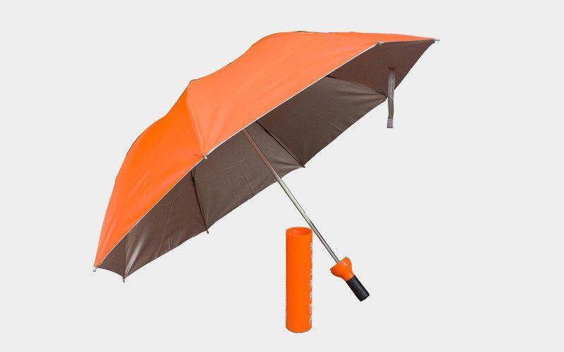 Criativo Garrafa Umbrella Multi Função Dual Purpose Prata Colloid Umbrella Garrafas De Vinho De Plástico Moda Toldo Carry Conveniente 9jn Y