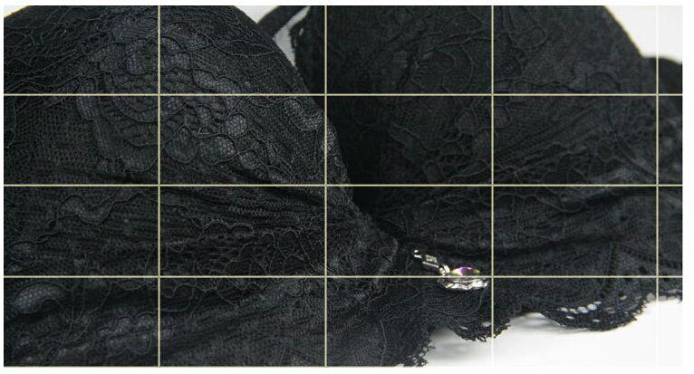 Soutiens-gorge sexy en dentelle avec bonnets en dentelle B-Cup, sous-vêtements gorge push-up, lingerie sexy, couleurs beiges noir rouge-rose,