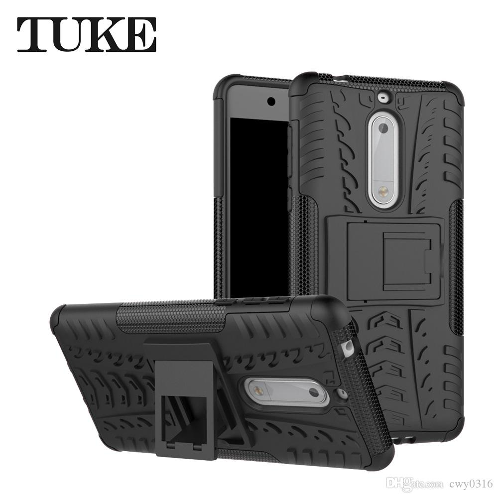 new arrivals 3f89d e9729 Case For Nokia 5 Case 5.2 inch Heavy Duty Armor Slim Hard Tough Rubber  Cover Silicon Phone Case For Nokia 5 Nokia5 Cover