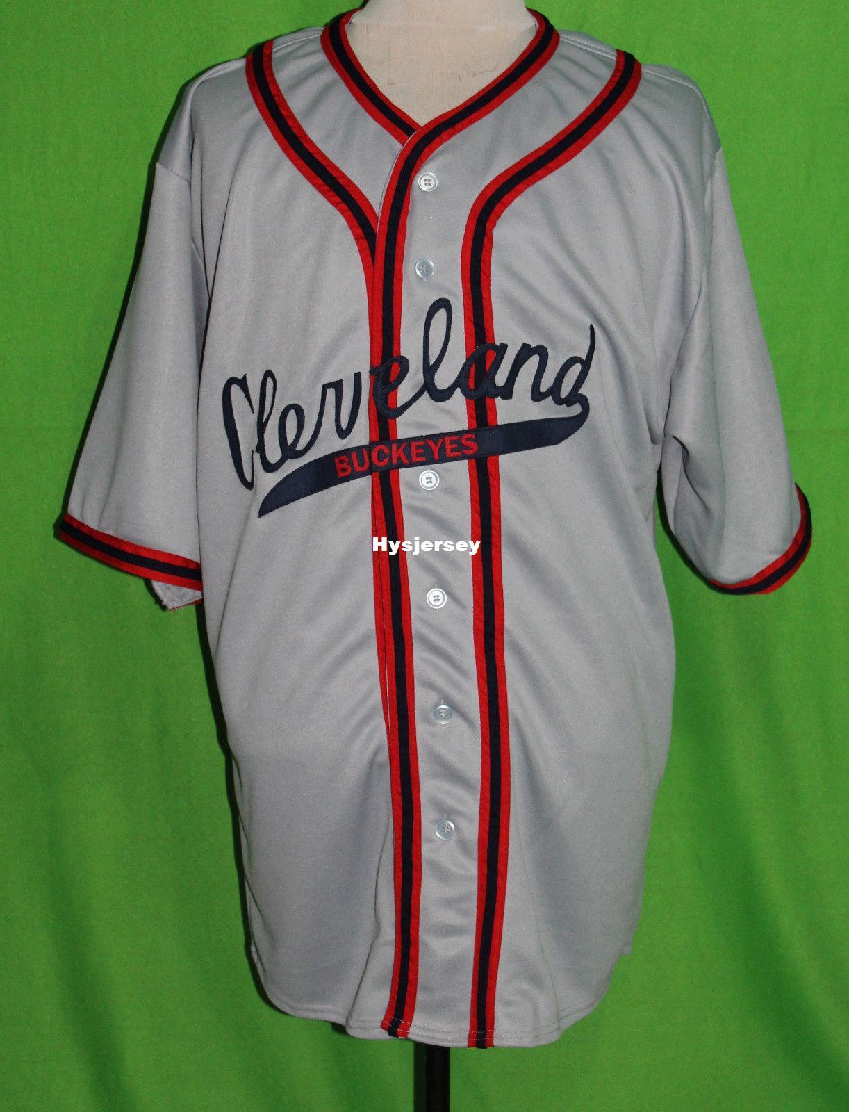 23157bfdb Cheap Retro CLEVELAND BUCKEYES #10 1946 Road BASEBALL JERSEY Or Custom Any  Number Any Mens Vintage Jerseys XS - 5XL Retro Baseball Jersey Cheap  Baseball ...
