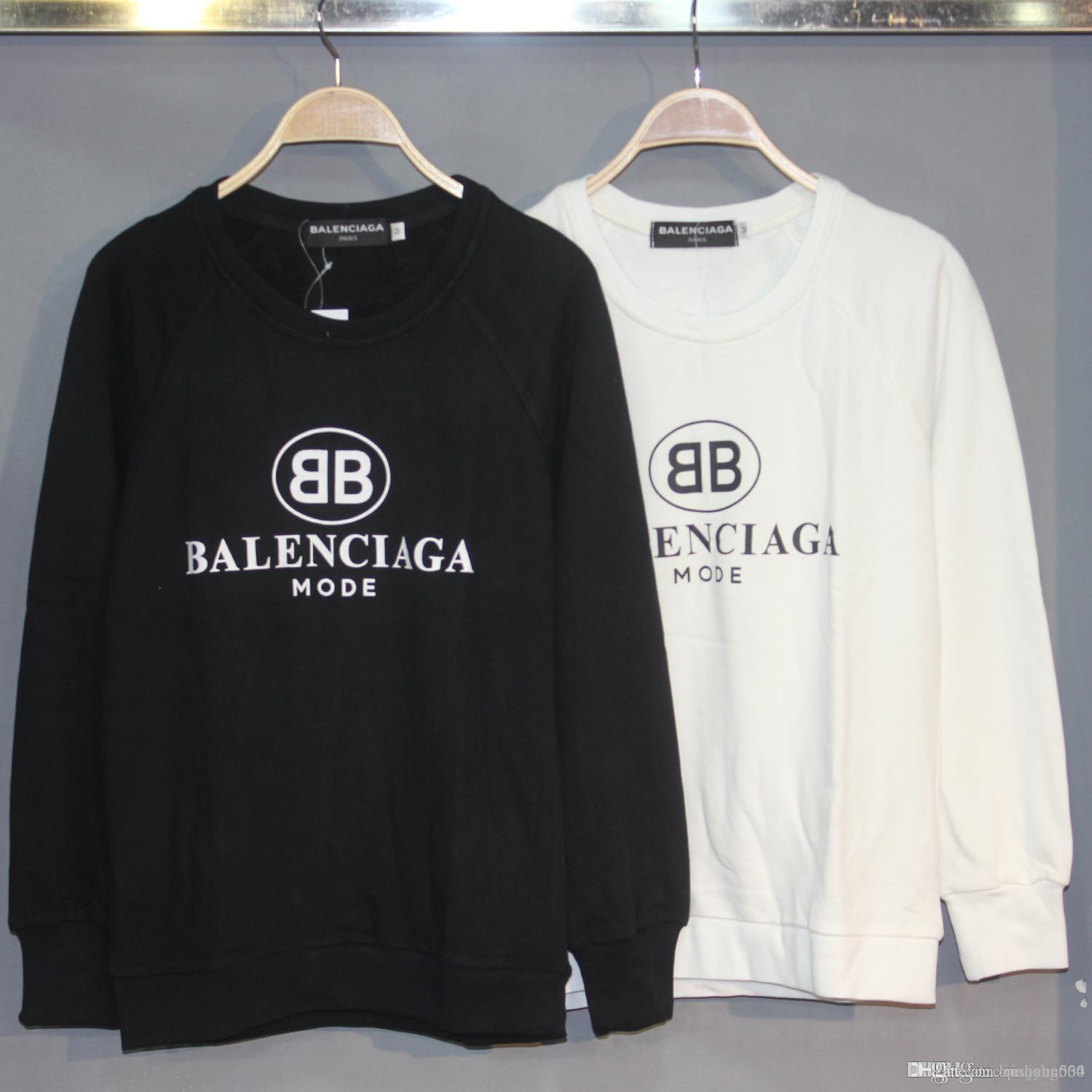 2019 893 European Luxury Official Website Synchronous Embroidery Designer  Hoodie Thick Loose Sweatshirt Men And Women Couple Sweater From  Liushang004 f94f184cb9
