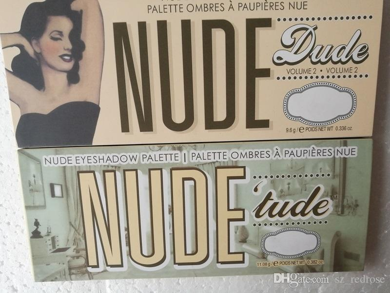 Women the Beauty Makeup Balm Nude Dude Vol .2 ombres a paupieres nue Eyeshadow Palettes Eye Shadow cosmetics