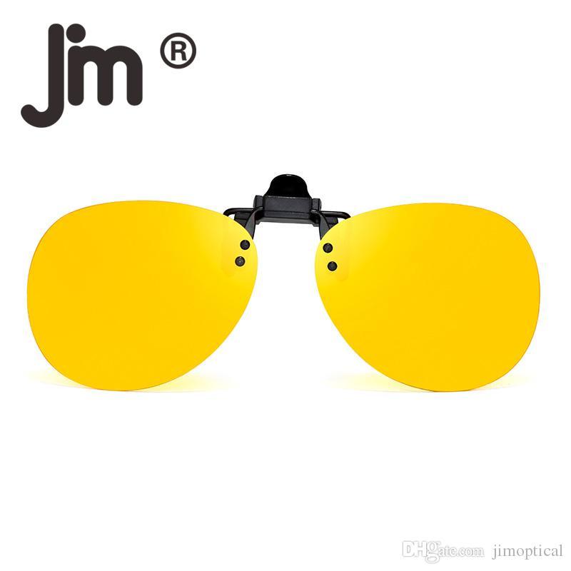 6412054bd41 JM Retro Vintage Clip on Rimless Sunglasses Polarized Flip Up Lenses  Eyeglasses Men Women Sun Glasses Polarized Sunglasses Clip Polarized  Driving Sunglasses ...