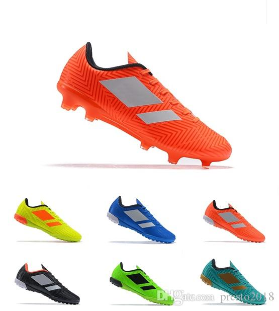 b6faecab812 2018 Messi World Cup Mens Soccer Shoes X Tango 18.4 IC TF Nemeziz Soccer  Cleats Cheap Indoor Turf Crampons De Boots Online with  65.87 Pair on  Presto2018 s ...