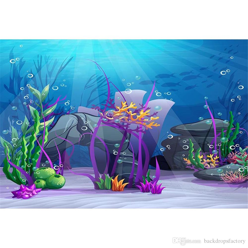 Under The Sea Party Themed Backdrop Photography Sunshine
