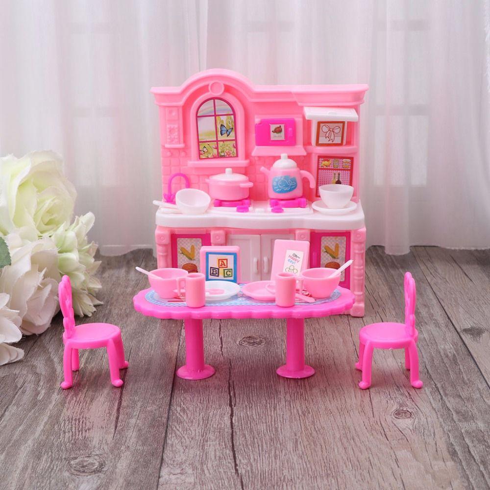 Großhandel Hbb Küchenmöbel Zubehör Puppen Geschirr Schrank Kinder
