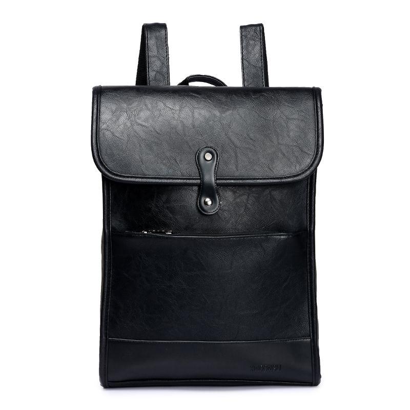 0eb6d44dfa0 Nieuwe Mode Mannen Rugzakken Voor PU Lederen Rugzakken Mannelijke Hoge  Kwaliteit Reizen Business Knapsack. Small Backpack Backpack Brands From  Bluemoodd, ...