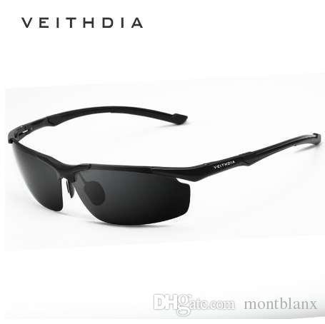 a0428a9056 Cheap VEITHDIA Brand Men s Aluminum Magnesium Sun Glasses HD Polarized  UV400 Sun Glasses Oculos Male Eyewear Sunglasses For Men 6592