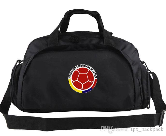 9aed988a2b Colombia Duffel Bag Cool Emblem Design Tote Football Team Logo Backpack  Soccer Exercise Luggage Sport Shoulder Duffle Flag Sling Pack Gym Bags For  Women ...
