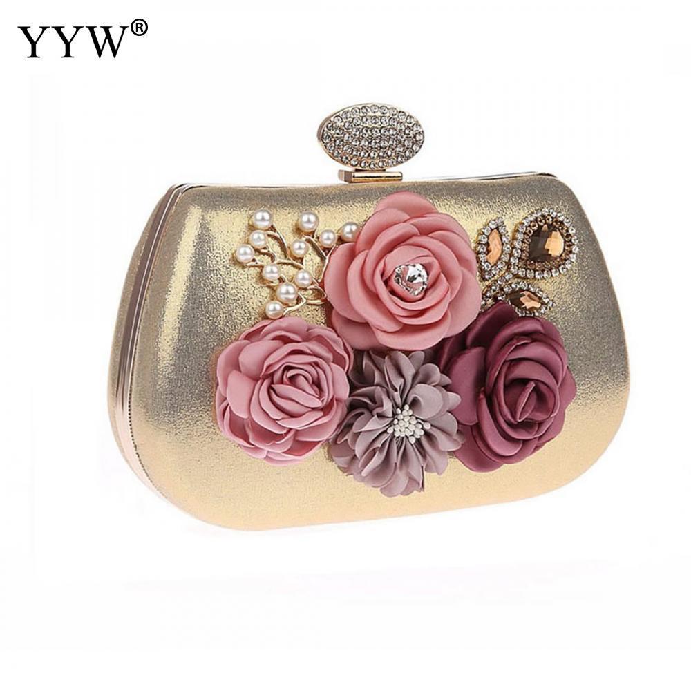 Floral Cluth Bag Women Evening Bags Female Fashion Mini Crossbody ... b187f75f03253