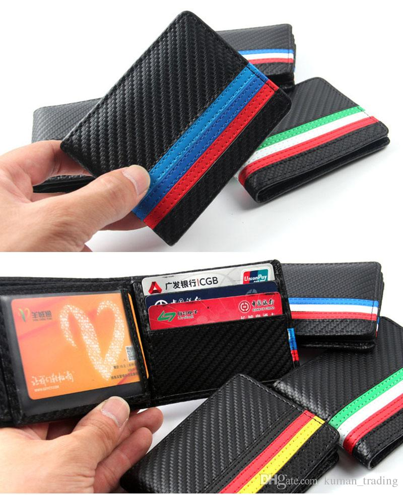 44660955844e Bmw M Sport Italy Germany France National Flag Styling Carbon Fibre Pu  Leather Purse Burse Moneybag Wallets Purse Wallet Cute Wallet From  Kuman trading