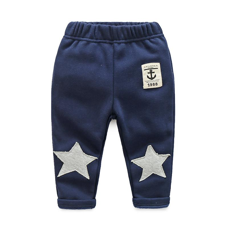 b7373eb03acf Kids Pants Children Outfits Winter Pants Boys Warm Casual Pants ...