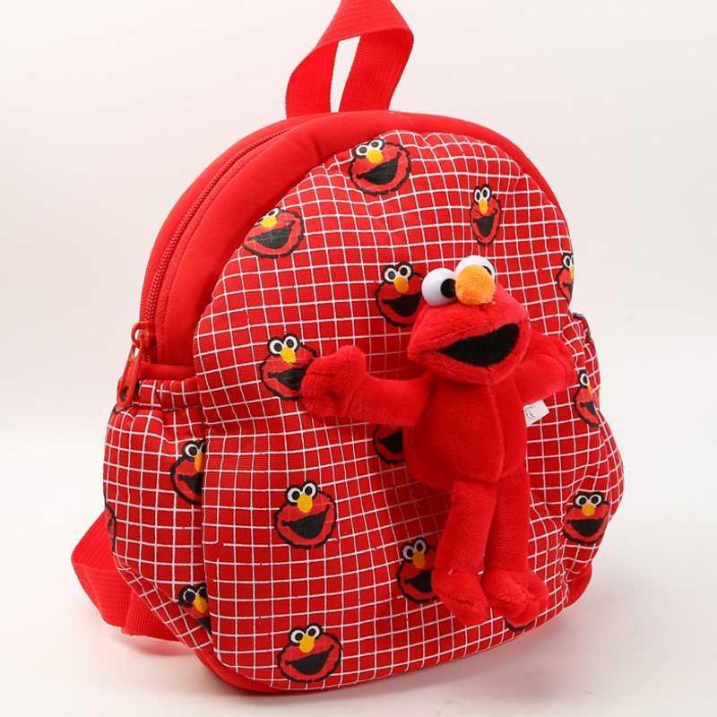 Cute Cartoon Hello Kitty Sesame Street Plush Backpack Soft Shoulder Bag  Kindergarten Baby Schoolbag Children Gift Plush Toy UK 2019 From Vingner 5d6fbbf3f322b