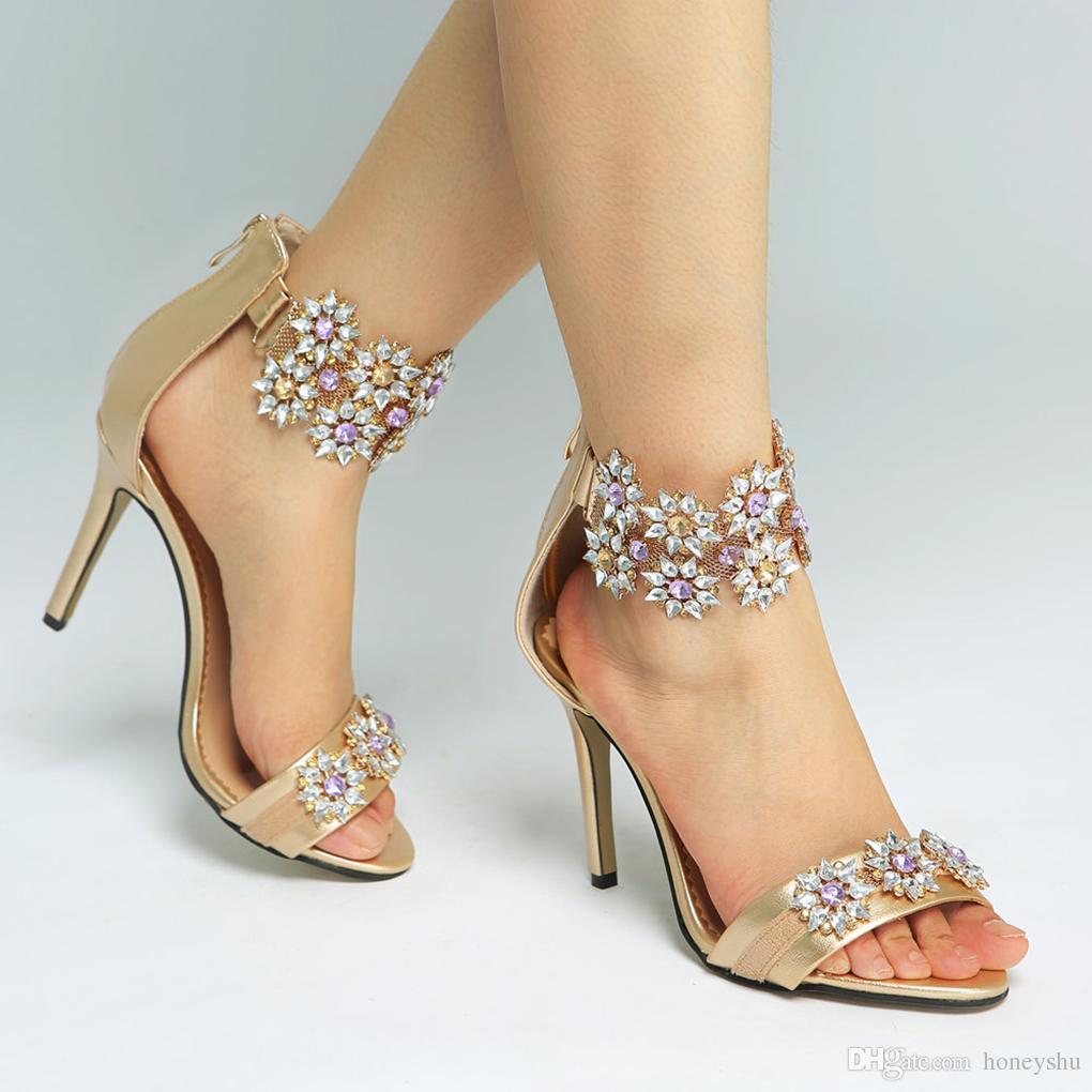 e481dd5cc3df Kolnoo 2019 BFCM New Style Ladies Handmade High Heel Sandals ...