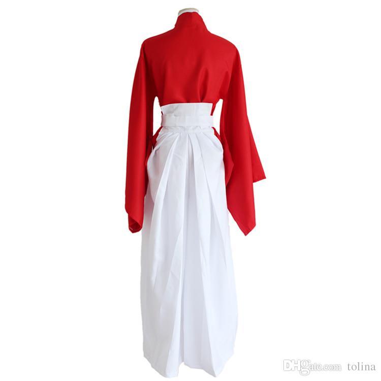 Anime Rurouni Kenshin Himura KENSHIN Costume Cosplay Kimono Halloween Gioco di ruolo Vestiti Top Pantaloni Uniforme da cintura