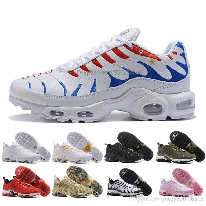 2d7f34141e2 New 2018 TN Champion France Mbappe Air Cushion Men Breathable Light Running  Shoes Sneakers Walking Running Shoes EUR Size 40 45 Shoe Sale Running  Spikes ...