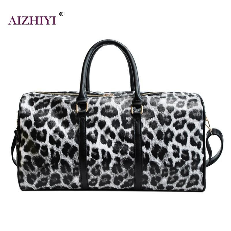 3bef64d982 Fashion Women Sling Handbag Large Capacity Leopard Shoulder ...