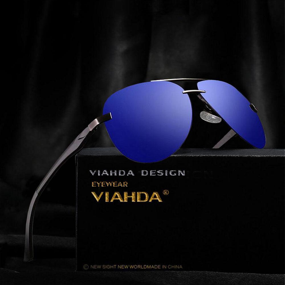 f2d191de843b4 Compre VIAHDA Polarized Óculos De Sol Dos Homens De Alumínio De Magnésio HD  Polarizada Moda Polaroid Lentes Óculos De Sol Oculos Masculino De Junemay,  ...