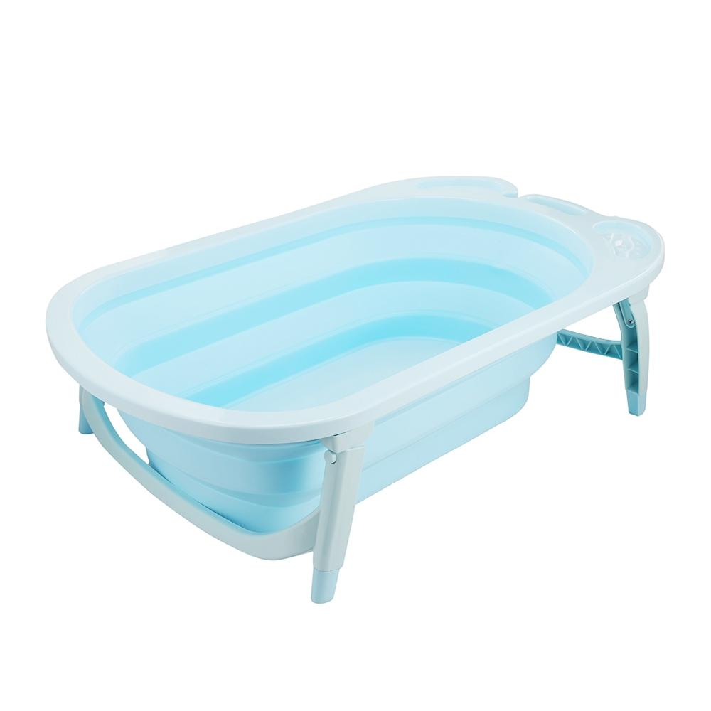 2018 Portable Folding Children Baby Bathtub Bath Bucket Swim Tubs ...