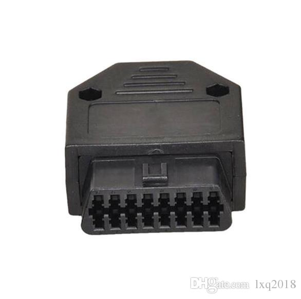 OBD2 OBDII 16Pin Female Connector Adapter Kit With Screws Diagnostic Tools