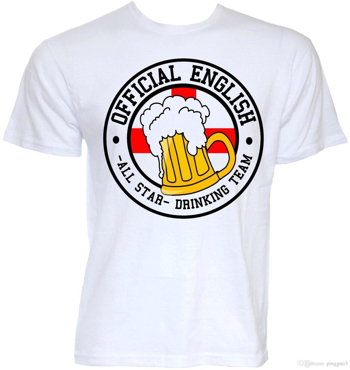 97c7281b MENS FUNNY COOL NOVELTY ENGLISH ENGLAND BEER FLAG JOKE SLOGAN T SHIRTS PUB  GIFTS Short Sleeve Cheap Sale Cotton T Shirt Cool Funny Shirts One Day  Shirts ...