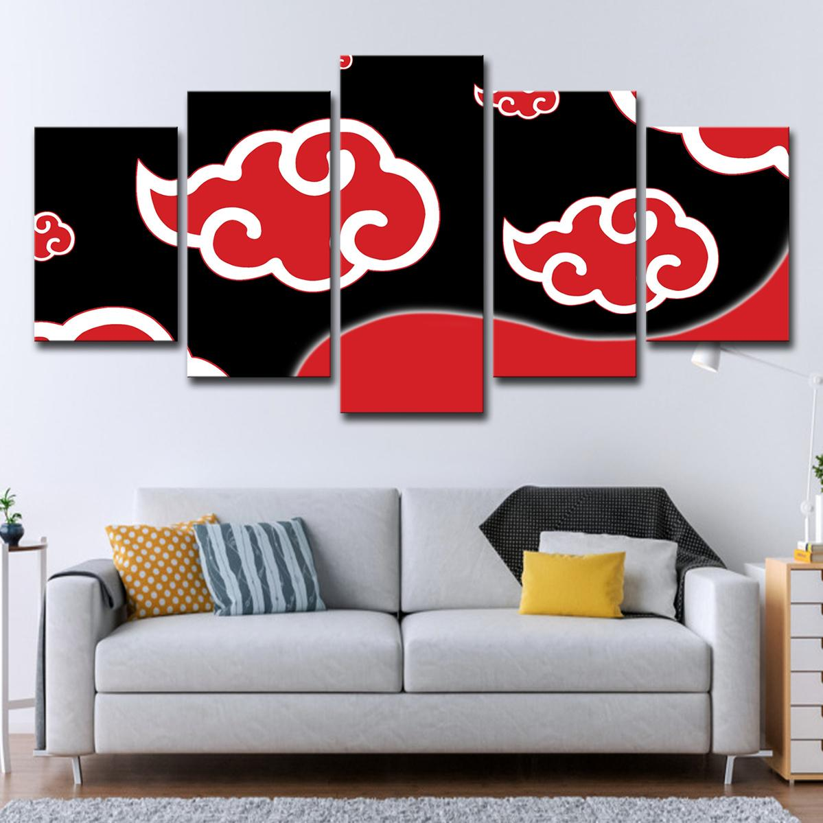 Acquista 5 PZ Wall Art Quadri Su Tela Quadro Soggiorno HD Stampe 5 ...