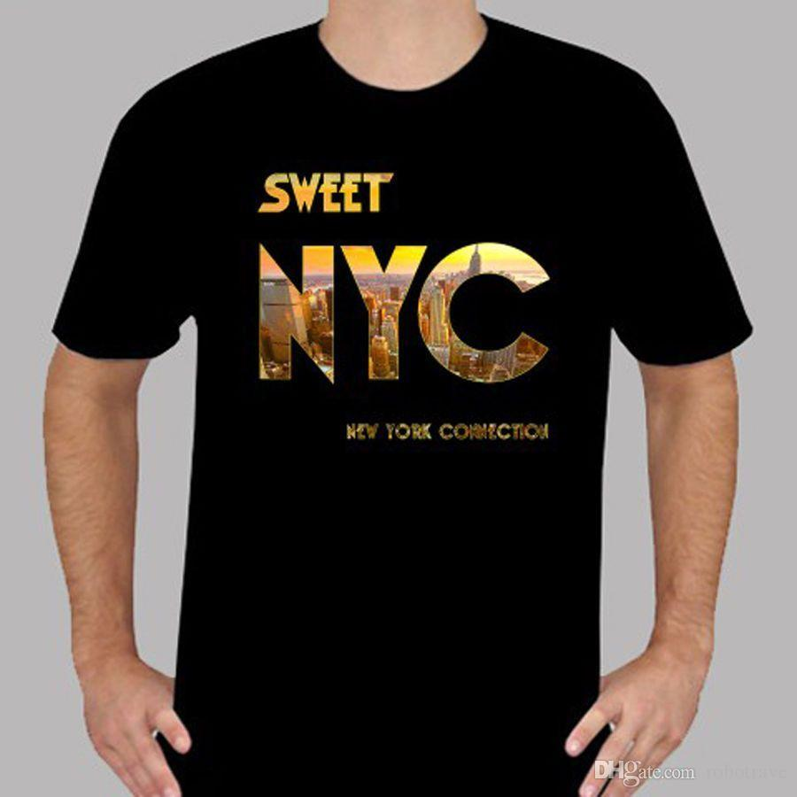 The Sweet NYC British Glam Rock Band T Shirt Original T Shirts T Shirts  With Sayings From Robotrave dd8d898156a