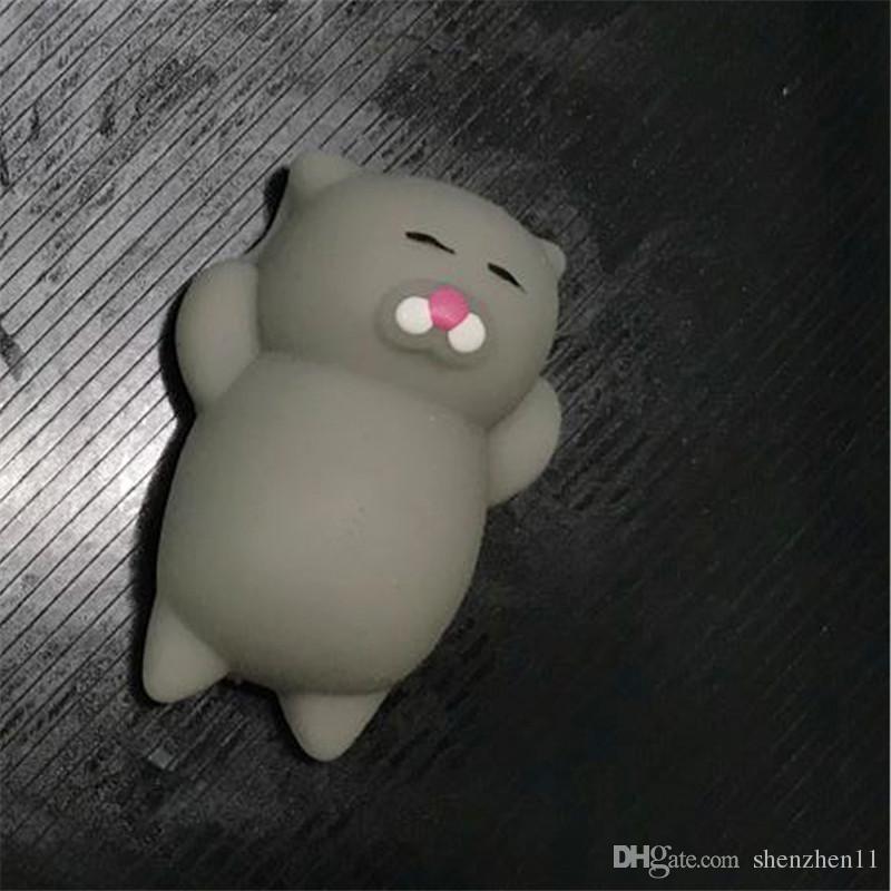 Squishy Yavaş Yükselen Jumbo Oyuncak Topuz Oyuncaklar Hayvanlar Sevimli Kawaii Sıkmak Karikatür Oyuncak Mini Squishies Kedi Squishiy Moda Nadir Hayvan OTH741