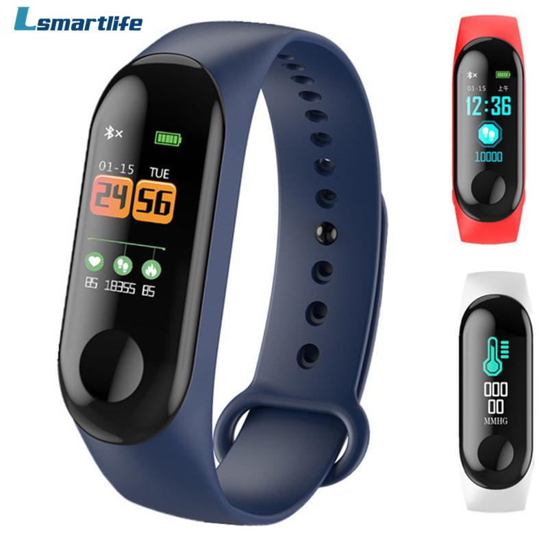 Watches Smart Wristband Fitness Bracelet Big Touch Screen Oled Message Display Heart Rate Time Smartband Ip68 Waterproof Smart Watch