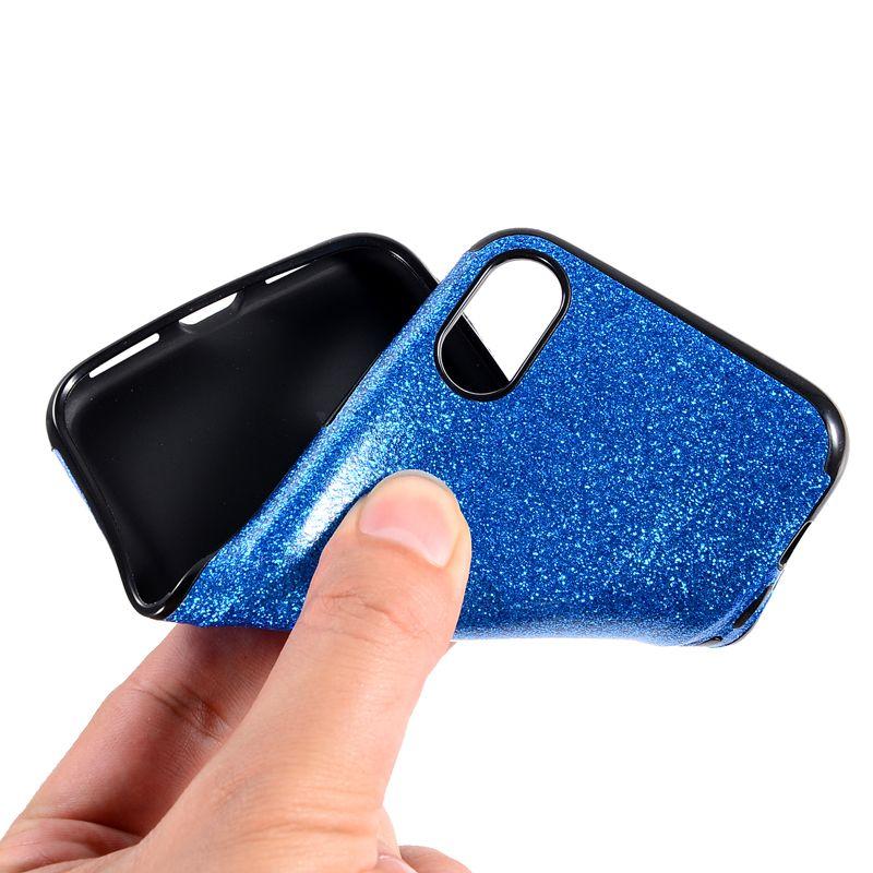Bling Glitter Slim Soft TPU Case For iPhone X XR XS Max 8 7 6 6S Plus 5 5S Samsung S6 S7 Edge S8 S9 Plus Note 9 J3 J5 J7 Pro A3 A5 A7 2017