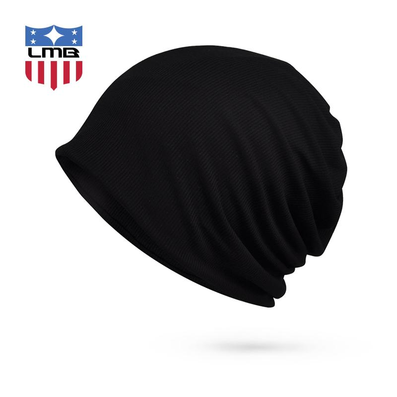 e3d86634765 LMB Stripe Autumn Winter Unisex Bonnet Casual Collar Mask Knitted Male Hat  For Women Turban Men Hats Female Cap Skullies Beanies Skullies   Beanies  Cheap ...
