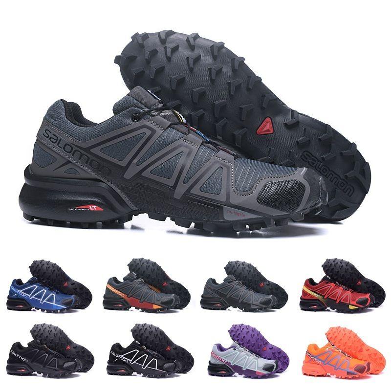 d4a4add963d61 Großhandel 2018 Salomon Speedcross 4 Trailrunner Beste Qualität Männer  Frauen Rabatt Sportschuhe Mode Sneaker Outdoor Schuhe Günstige Us5 11.5 Von  Yeezysale ...