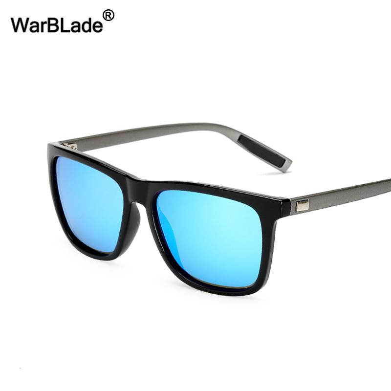 db9da4f1b8 Compre WarBLade Guy's Gafas De Sol Polarizadas Hombres Pesca Al Aire Libre  Deporte Gafas De Sol Conducción De Automóviles Conductor Gafas  Antideslumbrantes ...