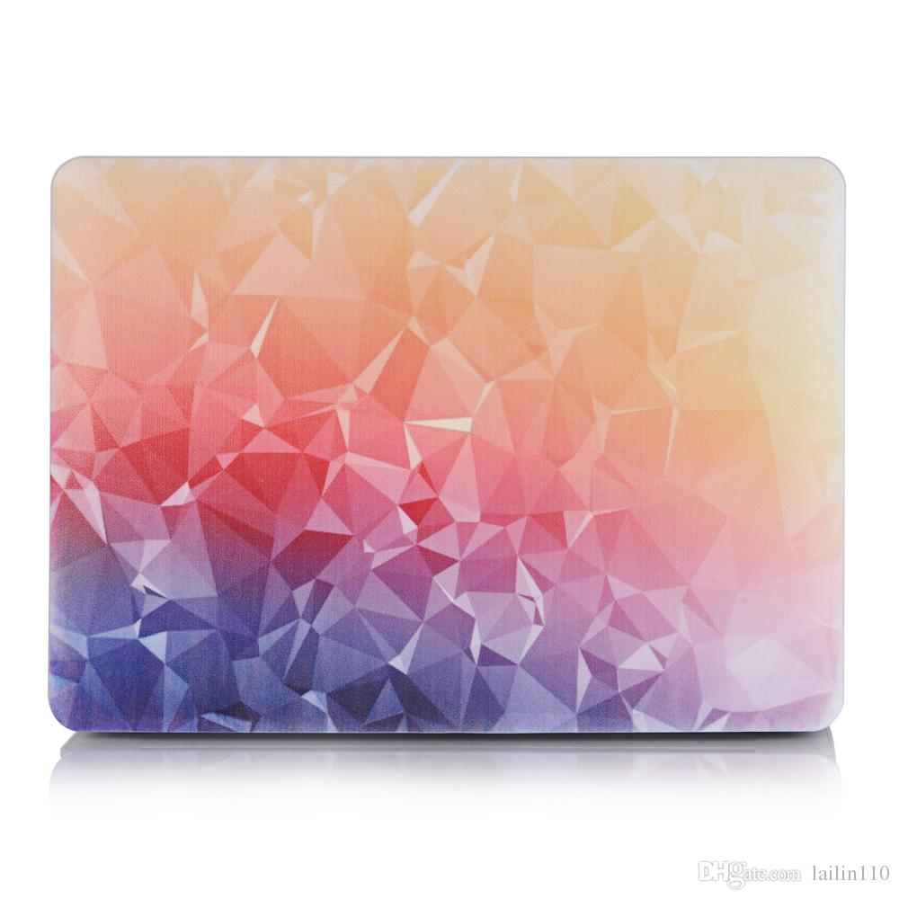 Colourful-6 Oil painting Case for Apple Macbook Air 11 13 Pro Retina 12 13 15 inch Touch Bar 13 15 Laptop Cover Shell