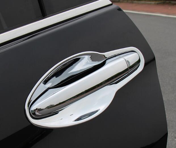 Hohe qualität ABS chrom 8 stücke türgriff schutz dekoration abdeckung + 8 stücke türgriff schüssel für Honda CRV CR-V 2012-2016