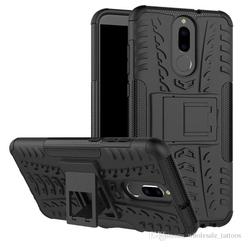 the best attitude cf2f2 f3584 Armor Case For Motorola Moto Z2 Force Edition Z2 Play Huawei Mate 9 Honor 8  7X Hybrid 2 in 1 Kickstand Case Rugger Silicone PC Hard Cover