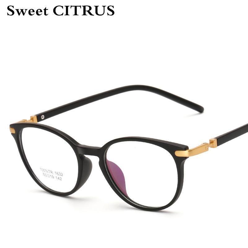 Compre Doce Citrus Moda Cat Eye Miopia Armações De Óculos Mulheres Designer  De Marca Do Vintage Óculos Ópticos Computador Prescrição Eyewear De Saucy,  ... a9e573d460